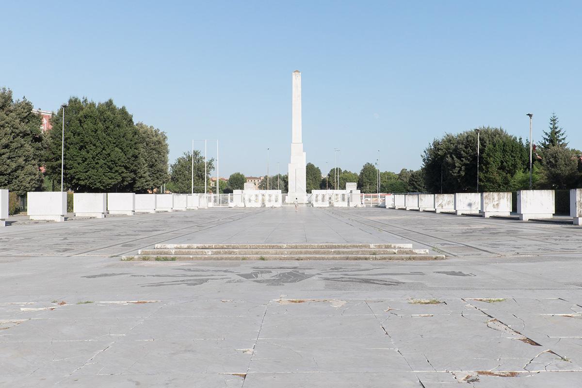 Il Foro Italico e l'obelisco