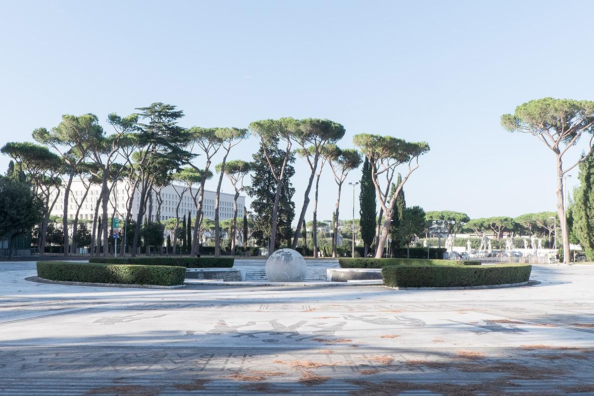 La Fontana Sfera al Foro Italico