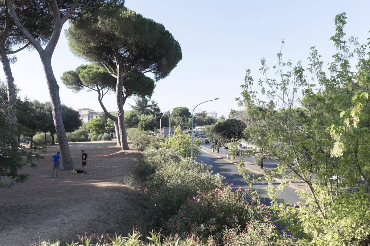 Via Olimpica a Villa Pamphilii